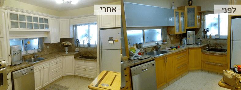 החלפת דלתות מטבח מחירים